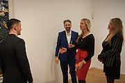 PRINCESS MARIA VON THURN UND TAXIS;; PRINCESS ELISABETH VON THURN UND TAXIS; KEITH TYSON, Panta Rhei. An exhibition of work by Keith Tyson. The Pace Gallery. Burlington Gdns. 6 February 2013.
