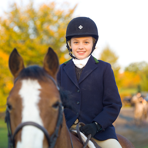 At the Fox Hunt, 10/2011