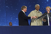 21/06/2003<br /> 06/21/2003<br /> 21 June 2003<br /> Special Olympics Opening Ceremony -Nelson Mandela opens the games.