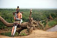 Karo tribe,Omo river 2010