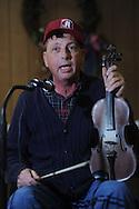 Bill Jones of Sardis was among musicians playing at Blackjack Connection at Blackjack Presbyterian Church near Sardis Lake on Monday, March 21, 2010.