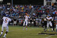 Oxford High's Parker Adamson (3) passes vs. Charleston in Charleston, Miss. on Friday, August 26, 2011. Oxford won.