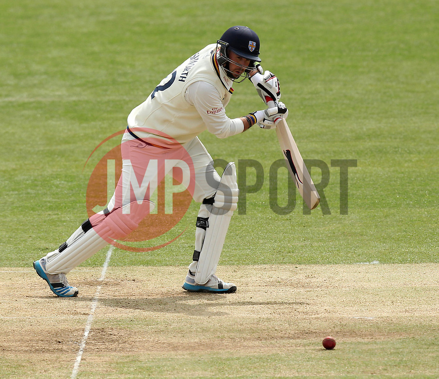 Durham's Chris Rushworth - Photo mandatory by-line: Robbie Stephenson/JMP - Mobile: 07966 386802 - 04/05/2015 - SPORT - Football - London - Lords  - Middlesex CCC v Durham CCC - County Championship Division One