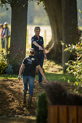 Cook Kristina (GBR)<br /> Cross country 6 years old horses<br /> Mondial du Lion - Le Lion d'Angers 2014<br /> © Dirk Caremans<br /> 18/10/14