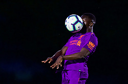 LONDON, ENGLAND - Friday, August 17, 2018: Liverpool's Bobby Adekanye during the Under-23 FA Premier League 2 Division 1 match between Arsenal FC and Liverpool FC at Meadow Park. (Pic by David Rawcliffe/Propaganda)