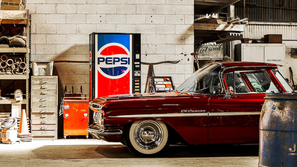 Chevy El Camino custom by Mike Fennel's enterprises