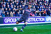 Leeds United midfielder Mateusz Klich (43) passes the ball during the EFL Sky Bet Championship match between Queens Park Rangers and Leeds United at the Kiyan Prince Foundation Stadium, London, England on 18 January 2020.
