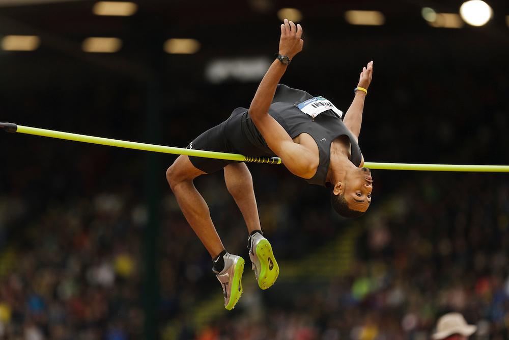 Men's high jump: Wright