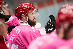 HEBER Andrej during Alps Hockey League match between HC Pustertal and HDD SIJ Jesenice, on October 3, 2019 in Ice Arena Podmezakla, Jesenice, Slovenia. Photo by Peter Podobnik / Sportida