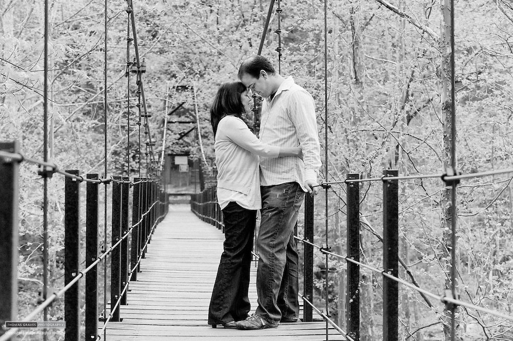 Dan Gaffney & Katy Rogers are seen here in Patapsco State Park on April 18, 2010. They will be married in September of this year.