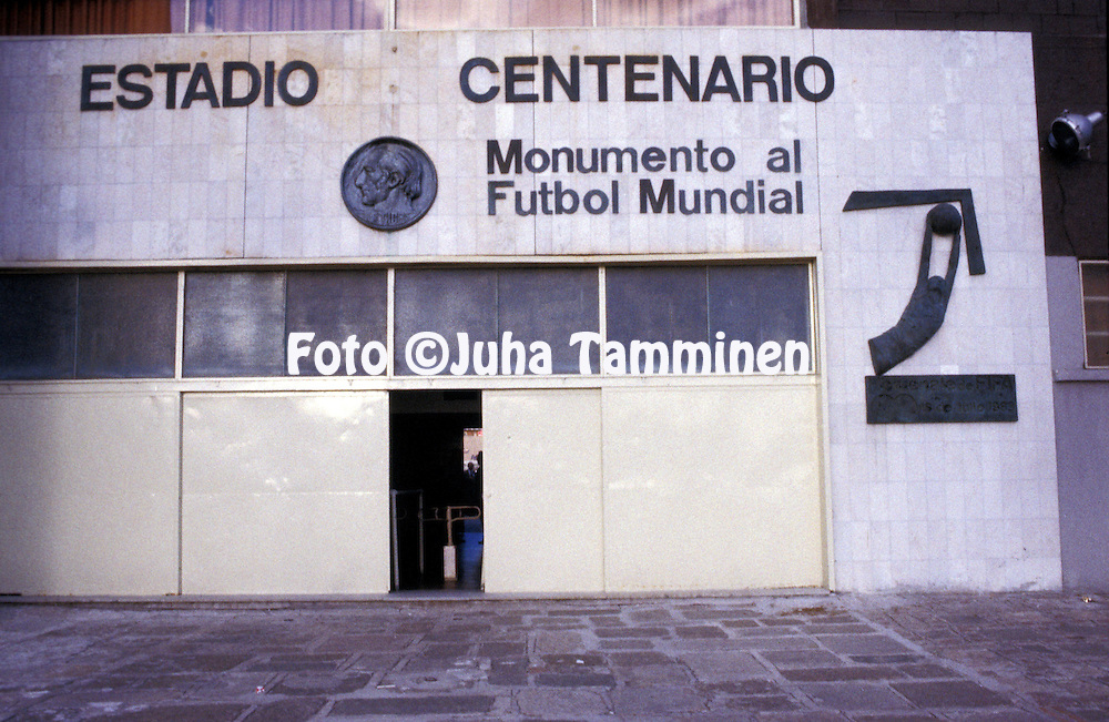 03.05.1984, Montevideo, Uruguay.Estadio Centenario.©Juha Tamminen