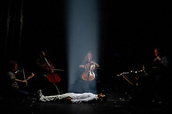 © Licensed to London News Pictures. 11/01/12. Survivor by Hofesh Shechter & Anthony Gormley. The Barbican Theatre, London. Photo credit : Tony Nandi/LNP