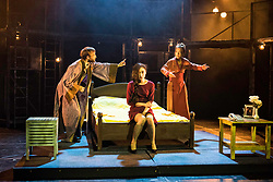 The Pleasance venue launched its 2017 Edinburgh Fringe Festival programme hosted by comedian Ed Gamble<br /> <br /> Pictured: Shanghai Dramatic Arts Centre in association with Gecko production of The Dreamer playing at Pleasance Courtyard