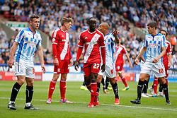 Albert Adomah of Middlesbrough looks on - Photo mandatory by-line: Rogan Thomson/JMP - 07966 386802 - 13/09/2014 - SPORT - FOOTBALL - Huddersfield, England - The John Smith's Stadium - Huddersfield town v Middlesbrough - Sky Bet Championship.