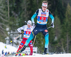 02.03.2019, Seefeld, AUT, FIS Weltmeisterschaften Ski Nordisch, Seefeld 2019, Nordische Kombination, Langlauf, Team Bewerb 4x5 km, im Bild Francois Braud (FRA) // Francois Braud of France during the Cross Country Team competition 4x5 km of Nordic Combined for the FIS Nordic Ski World Championships 2019. Seefeld, Austria on 2019/03/02. EXPA Pictures © 2019, PhotoCredit: EXPA/ Stefan Adelsberger