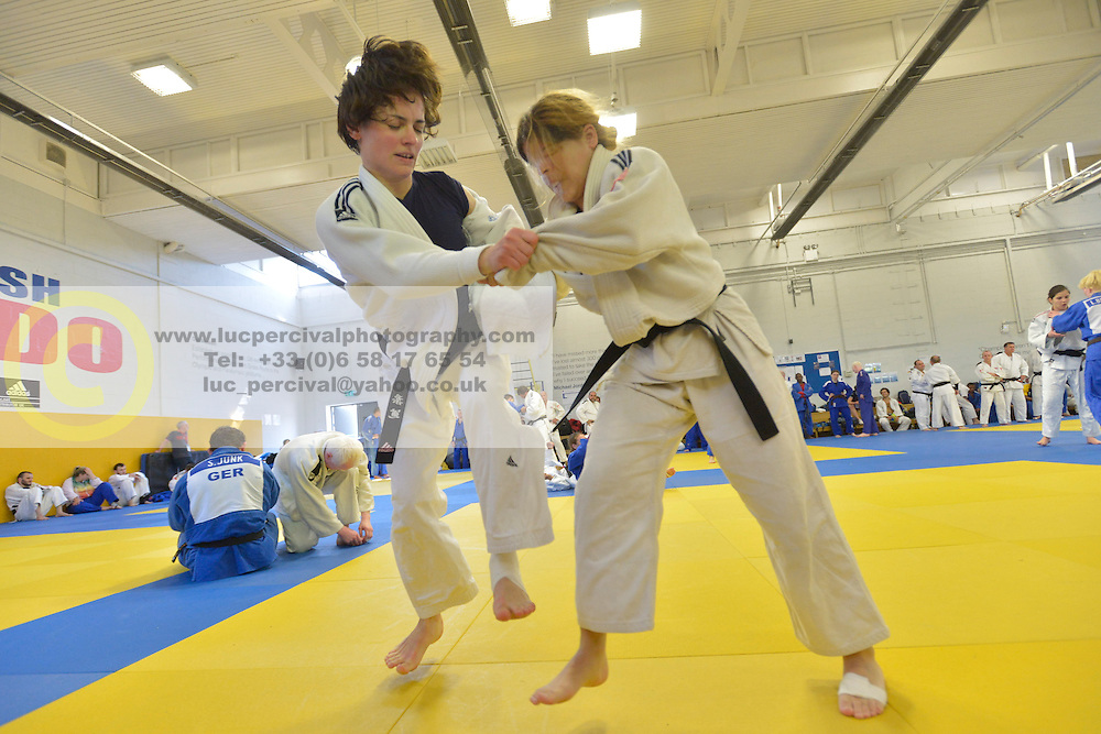 Training Camp, 2016 Visually Impaired Judo Grandprix, British Judo, Birmingham, England