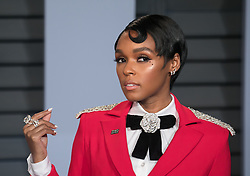 March 4, 2018 - Beverly Hills, California, U.S - Actress Janelle Monae on the red carpet of the 2018 Vanity Fair Oscar  Party held at the Wallis Annenberg Center in Beverly Hills,  California on Sunday March 4, 2018. (Credit Image: © Prensa Internacional via ZUMA Wire)