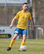 FODBOLD: Frank Holm (Ølstykke FC) under kampen i Serie 2 mellem Ølstykke FC og Humlebæk Boldklub den 6. april 2019 på Ølstykke Stadion. Foto: Claus Birch.
