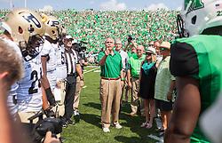 Sep 6, 2015; Huntington, WV, USA; [CAPTION] at Joan C. Edwards Stadium. Mandatory Credit: Ben Queen-USA TODAY Sports
