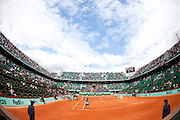 Roland Garros 2011. Paris, France. May 27th 2011..The Philippe CHATRIER court