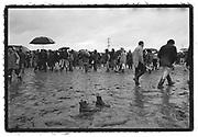 Boots Seek Owner, Glastonbury Mud Field, 1985