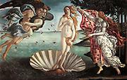 Birth of Venus, Sandro Botticelli, circa 1485