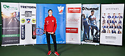 Warsaw, Poland - 2017 December 08: Tennis player Julia Oczachowska from Poland while Photo Session of Fed Cup Team of Polish Tennis Association at Mera Tennis Club on December 08, 2017 in Warsaw, Poland.<br /> <br /> Mandatory credit:<br /> Photo by &copy; Adam Nurkiewicz / Mediasport<br /> <br /> Adam Nurkiewicz declares that he has no rights to the image of people at the photographs of his authorship.<br /> <br /> Picture also available in RAW (NEF) or TIFF format on special request.<br /> <br /> Any editorial, commercial or promotional use requires written permission from the author of image.