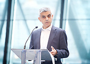 Sadiq Khan, Mayor launches a search for the first ever London Borough of Culture at a ceremony at City Hall, London, Great Britain <br /> 30th June 2017 <br /> <br /> <br /> Sadiq Khan, Mayor London <br /> <br /> <br /> <br /> Photograph by Elliott Franks <br /> Image licensed to Elliott Franks Photography Services