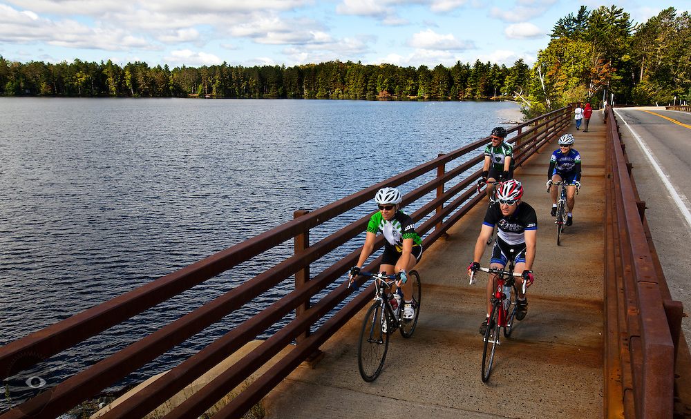 Day Zero from Saranac Lake to Star Lake on Sunday, September 7, 2014.  L.E. Baskow