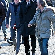 NLD/Amsterdam/20120127 - Uitvaart Jeroen Soer, Ferry Maat, Erik de Zwart en Jeroen van Inkel