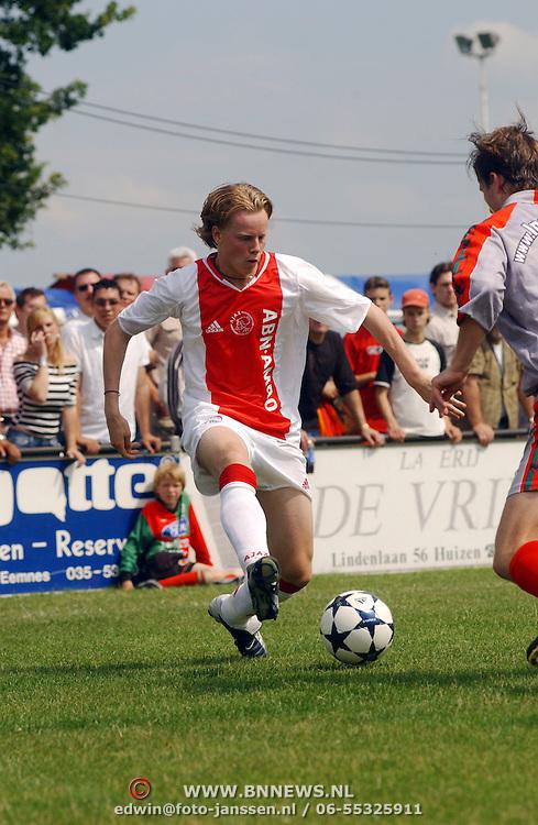 Oefenwedstrijd Zuidvogels - Ajax 1, Tom de Mul