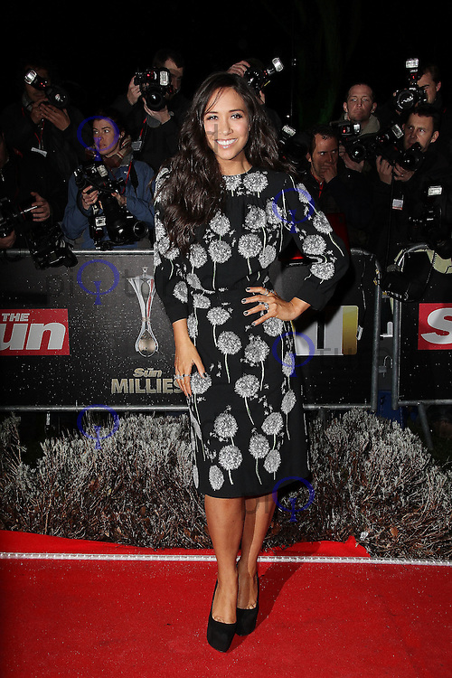 LONDON - DECEMBER 19: Myleene Klass attends the The Sun Military Awards 'The Millies' at the Imperial War Museum, London, UK on December 19, 2011. (Photo by Richard Goldschmidt)
