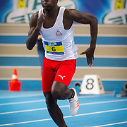 NLD/Apeldoorn/20180217 - NK Indoor Athletiek 2018, 60 meter heren, Elvis Afrifa