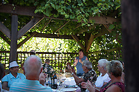 On a sunny evening the Saanich Sommeliers enjoyed a whole lamb roast and potluck dinner at Starling Lane to celebrate summer.