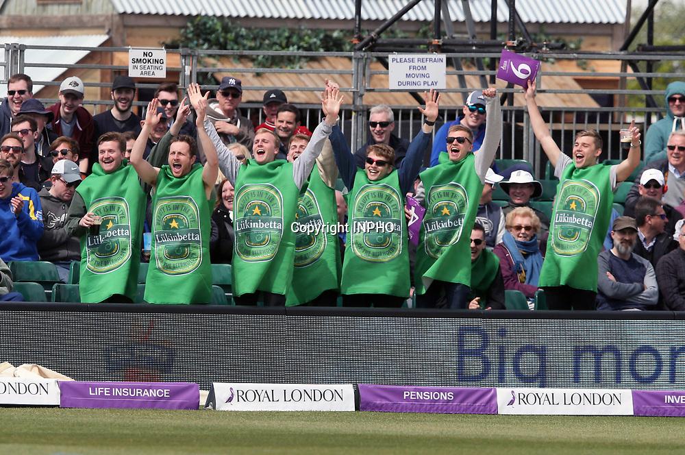 1st One Day International, Bristol Cricket Ground, England 5/5/2017<br /> England vs Ireland<br /> Ireland fans<br /> Mandatory Credit &copy;INPHO/Andrew Fosker