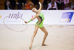 Veronica Minezzi of Italy competes during 27th MTM - International tournament in rhythmic gymnastics Ljubljana, on April 19, 2014 in Arena Krim, Ljubljana, Slovenia. Photo by Vid Ponikvar / Sportida