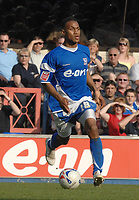 Photo: Ashley Pickering.<br /> Ipswich Town v Derby County. Coca Cola Championship. 14/04/2007.<br /> Ipswich goal scorer Danny Haynes on the ball