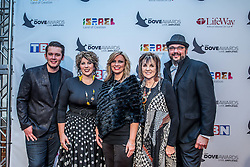 October 11, 2016 - Nashville, Tennessee, USA - The Isaacs at the 47th Annual GMA Dove Awards  in Nashville, TN at Allen Arena on the campus of Lipscomb University.  The GMA Dove Awards is an awards show produced by the Gospel Music Association. (Credit Image: © Jason Walle via ZUMA Wire)