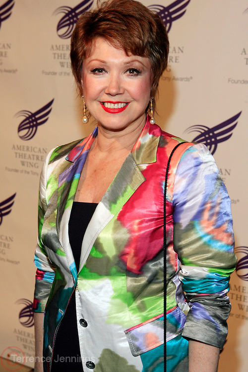 "Donna McKechie at The American Theater Wing's Annual Spring Gala Honoring Jerry Herman and Visa INC...The American Theatre Wing is best known as the creator of the Antoinette Perry ""Tony"" Awards, which it presents annually with the Brodway League. The Wing's other activities, dedicated to recognizing excellence and supporting eductaion in theatre."