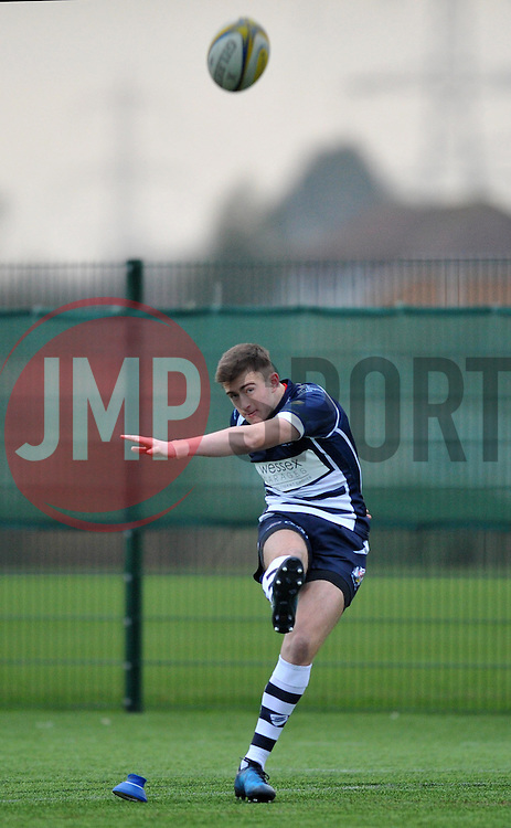 Nathan Chamberlain - SGS College of Bristol Academy U18 - Mandatory by-line: Paul Knight/JMP - 07/01/2017 - RUGBY - SGS Wise Campus - Bristol, England - Bristol Academy U18 v Exeter Chiefs U18 - Premiership U18 League