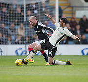 Dundee&rsquo;s James Vincent and Inverness&rsquo; Ross Draper - Dundee v Inverness Caledonian Thistle in the Ladbrokes Scottish Premiership at Dens Park, Dundee, Photo: David Young<br /> <br />  - &copy; David Young - www.davidyoungphoto.co.uk - email: davidyoungphoto@gmail.com