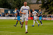 Leeds United Ryan Edmondson (14) scores a goal and celebrates to make the score 0-1 during the Pre-Season Friendly match between Tadcaster Albion and Leeds United at i2i Stadium, Tadcaster, United Kingdom on 17 July 2019.