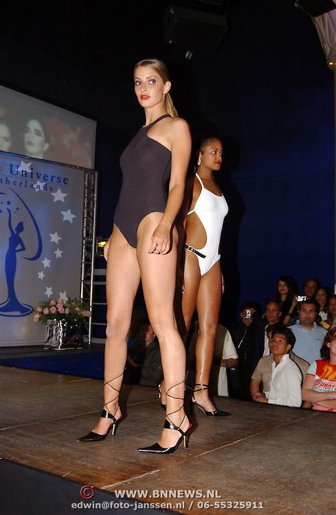 Finale Nederlandse Miss Universe 2004, Lianne Langkamp + Luwengela Martis