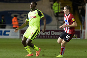 Joshu Emmanuel (2) during the EFL Sky Bet League 1 match between Lincoln City and Bolton Wanderers at Sincil Bank, Lincoln, United Kingdom on 14 January 2020.