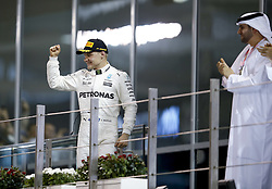 November 26, 2017 - Abu Dhabi, United Arab Emirates - Motorsports: FIA Formula One World Championship 2017, Grand Prix of Abu Dhabi, ..#77 Valtteri Bottas (FIN, Mercedes AMG Petronas F1 Team) (Credit Image: © Hoch Zwei via ZUMA Wire)