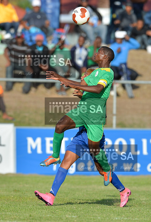 CAPE TOWN, SOUTH AFRICA - Thursday 24 March 2016,  Nashwin Lallo of Greenwood Athletic during the match between Supersport United and Greenwood Athletic during the second day of the Metropolitan U19 Premier Cup at Erica Park in Belhar. <br /> Photo by Roger Sedres/ImageSA