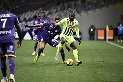 January 27, 2019 - Toulouse, France - Christipher Julien (tfc) vs Stephane Bahoken  (Credit Image: © Panoramic via ZUMA Press)