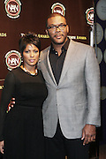 New York, NY-October 19: l to r: News Anchor Tamron Hall Actor/Producer Tyler Perry(Honoree) at the 2nd Annual National Action Network's Triumph Awards in the Arts, Entertainment & Sports held at Jazz at Lincoln Center on October 19, 2011 in New York City.  Photo Credit: Terrence Jennings