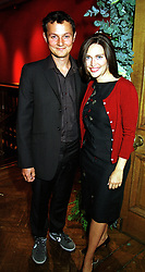 MR JOHNNY YEO and MISS SHEBAH RONAY at an exhibition in London on 20th September 1999.MWN11