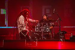 A banda O Rappa se apresenta no palco Planeta durante a 20ª edição do Planeta Atlântida, que ocorre nos dias 29 e 30 de janeiro, na SABA, na praia de Atlântida, no Litoral Norte gaúcho.  Foto: Jefferson Bernardes / Agência Preview